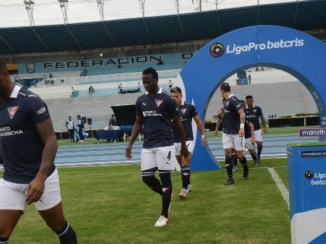 Liga de Quito confirma un debut en el 11 titular que enfrentará a Olmedo