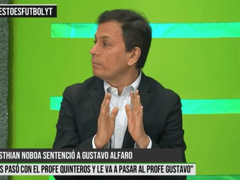 Roberto Bonafont reveló el momento que Gustavo Alfaro dejó de confiar en Noboa
