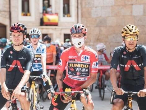 Richard Carapaz continúa a 25 segundos de Primoz Roglic tras la segunda etapa de la Vuelta a España