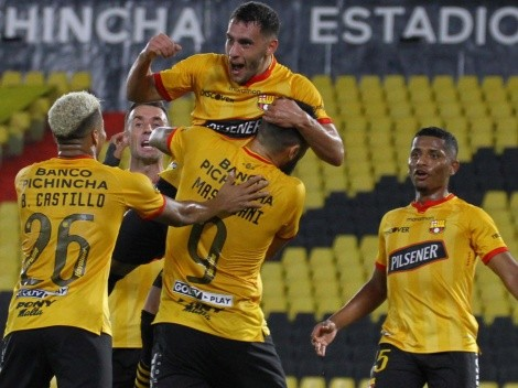 Pasó Barcelona de Guayaquil contra Fluminense tras empatar 1-1 por Copa Libertadores en la vuelta de los cuartos de final