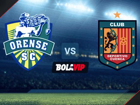EN VIVO: Orense vs. Deportivo Cuenca por la LigaPro de Ecuador 2021