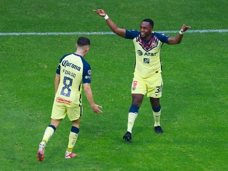 (VIDEO) Renato Ibarra volvió a jugar con el Club América y convirtió un gol
