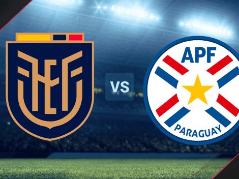 Cómo ver HOY EN VIVO Ecuador vs. Paraguay por las Eliminatorias Sudamericanas