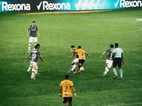 La jugada viral de Emmanuel Martínez contra Fluminense que publicó la Conmebol Libertadores