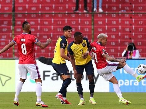 Piero Hincapié hizo un balance del empate de 'La Tri' frente a Chile