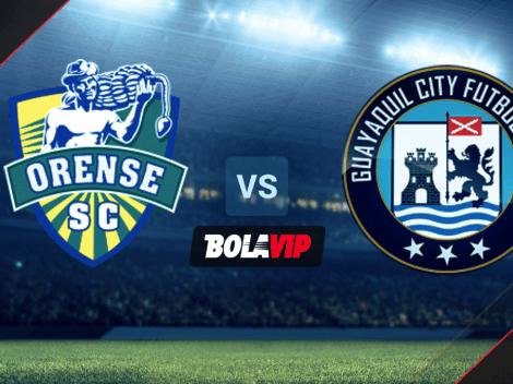 ◉ EN VIVO: Orense vs. Guayaquil City FC