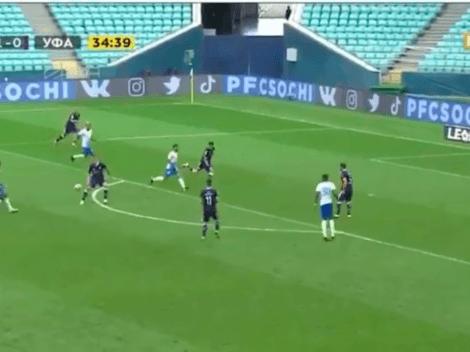 (VIDEO) Christian Noboa anotó en Rusia y fue elegido como la figura