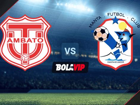 HOY | EN VIVO | Técnico Universitario vs. Manta FC por la Liga Pro: hora y TV