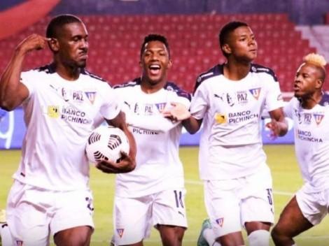 Desde Liga de Quito explican porqué Ordóñez cobró el penal vs. Emelec