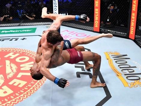 (FOTO) 'Chito' Vera felicitó a Michael Morales por ser el segundo ecuatoriano en UFC