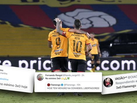 """""""Mínimo 3-0"""": los tuits de los hinchas de Flamengo antes de jugar con Barcelona"""