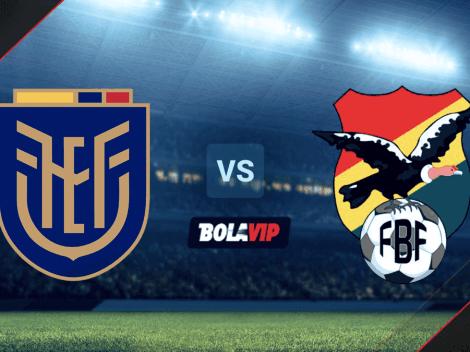Cómo VER Ecuador vs. Bolivia por las Eliminatorias Sudamericanas: hora y canal de TV