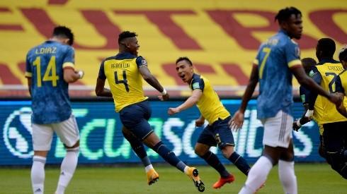 Arboleda ya le anotó a Colombia en esta Eliminatoria. Foto: GettyImages