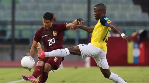 Enner Valencia se convirtió en el máximo goleador de 'La Tri'. Foto: GettyImages