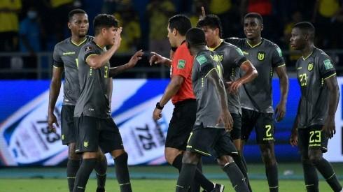 Ecuador rescató 1 punto en los minutos finales. Foto: GettyImages