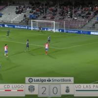 (VIDEO) El extraño autogol de Erick Ferigra en la UD Las Palmas