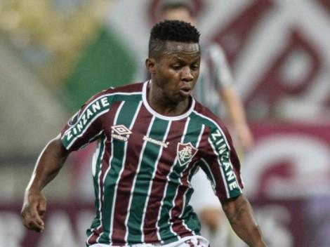 El precio que pide Fluminense para desprenderse de Juan Cazares